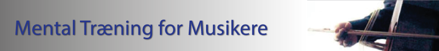 Mental Training for Musicians